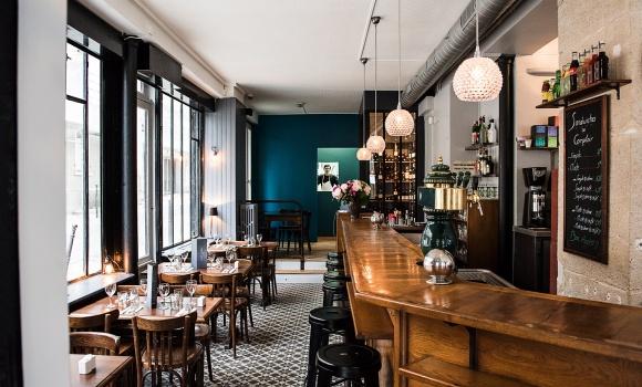 restaurant le caf lumi re paris 20 me fran ais. Black Bedroom Furniture Sets. Home Design Ideas