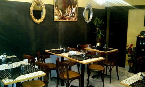 restaurant chez nanou paris 20 me alg rien. Black Bedroom Furniture Sets. Home Design Ideas