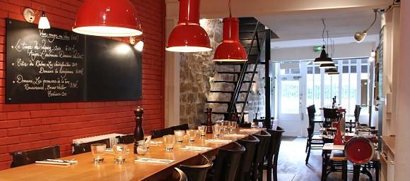 restaurant glou paris 3 me fran ais. Black Bedroom Furniture Sets. Home Design Ideas