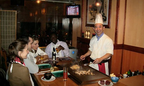 Restaurant kokohana paris 8 me japonais - Restaurant japonais paris cuisine devant vous ...