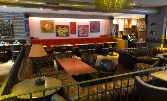 restaurant l 39 entrep t villette paris 19 me fran ais. Black Bedroom Furniture Sets. Home Design Ideas