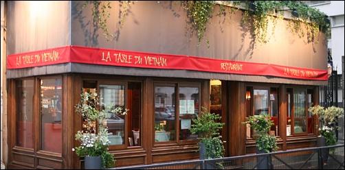Restaurant La Table Du Vietnam Paris 7 Me Restaurant