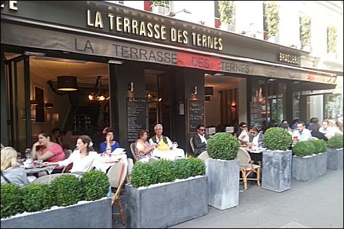 Restaurant la terrasse des ternes paris 17 me fran ais - Table de terrasse restaurant ...