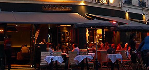 Cafe De La Alma Paris