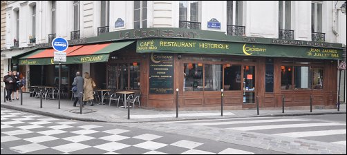 Restaurant Le Croissant Paris 2 ème - français
