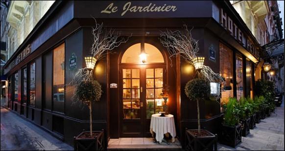 Restaurant le jardinier paris 9 me fran ais for Recherche jardinier paris