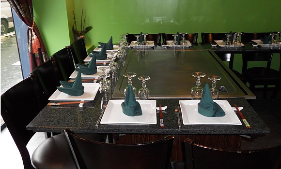 Restaurant teppanyaki yonghua paris 12 me japonais - Restaurant japonais cuisine devant vous ...
