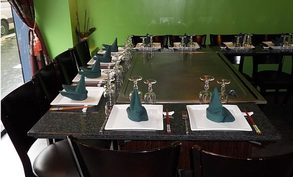 Restaurant teppanyaki yonghua paris 12 me japonais - Restaurant japonais paris cuisine devant vous ...