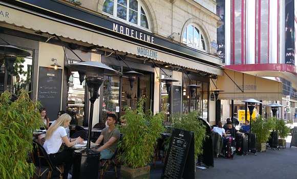Les sympathiques terrasses de Paris