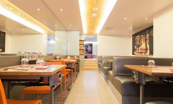 Restaurant atsu atsu paris 2 me japonais - Restaurant japonais table tournante paris ...