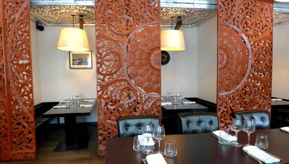 restaurant aux trois nagas paris 16 me thailandais. Black Bedroom Furniture Sets. Home Design Ideas