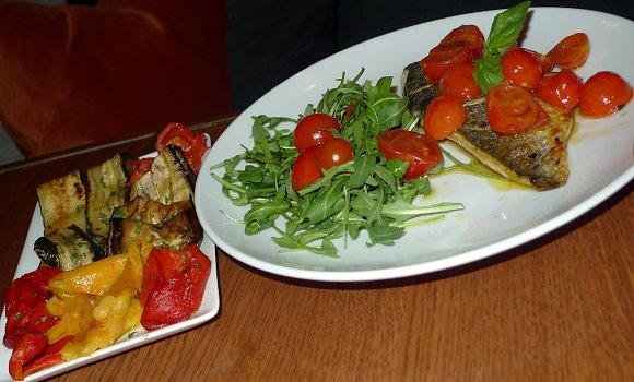 Restaurant casa luca niel paris 17 me italien - Restaurant poisson grille paris ...
