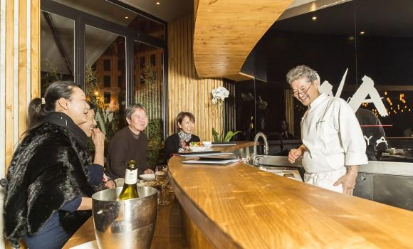 Wa izakaya paris 2 me restaurant japonais for Restaurant japonais chef cuisine devant vous