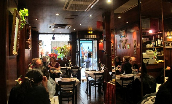 Restaurant krua thai paris ème thailandais