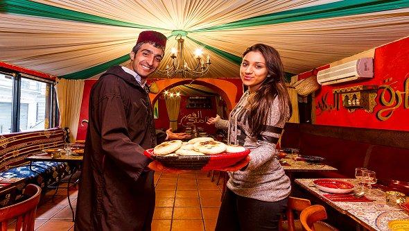 Restaurant le massyl paris ème marocain