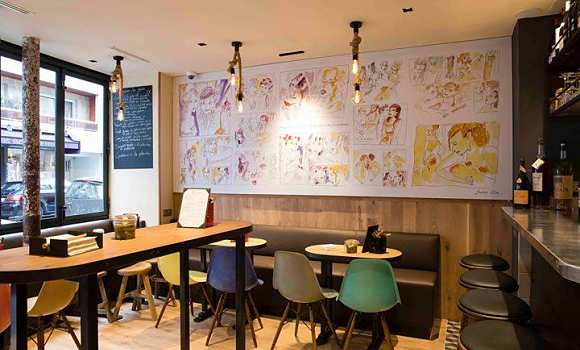 Restaurant Wim Van Gorp Paris