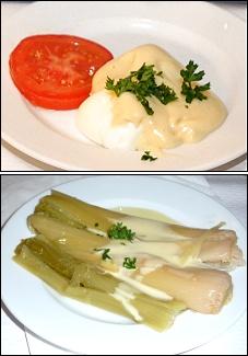 Photo restaurant paris Chartier - Oeuf Mayo et Poireaux vinaigrette