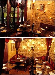 Photo restaurant paris Tine - Une Banquette de coin à investir et une ambiance romantique !