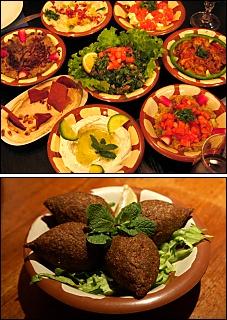 Photo restaurant paris Tine - Le Mezze est généreux,<br>le Kébbés délicieux !