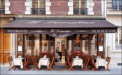 restaurant il sorrentino paris 7 me restaurant italien. Black Bedroom Furniture Sets. Home Design Ideas