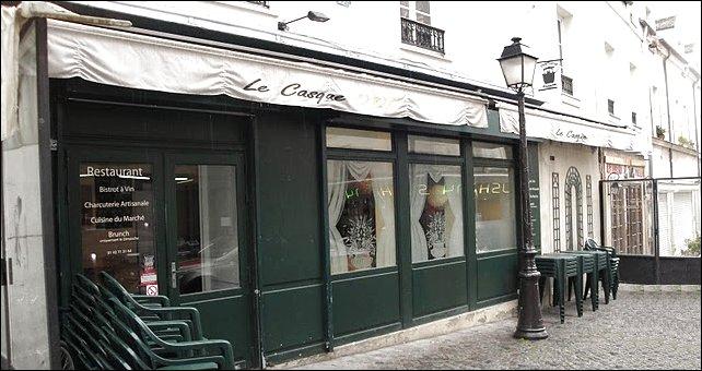 Restaurant le casque d 39 or du 20 me paris 20 me restaurant fran ais - Le bistrot d yves ...