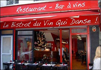 Restaurant le bistrot du vin qui danse paris 11 me restaurant fran ais - Le bistrot d yves ...