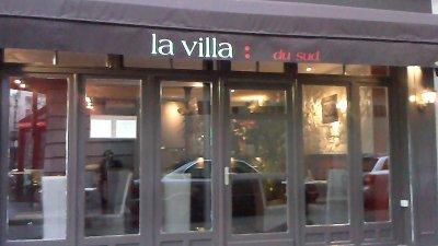 Restaurant la villa du sud paris 17 me restaurant italien - Porte de saint cloud restaurant ...