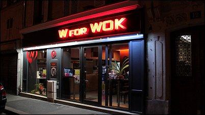 restaurant w for wok paris 10 me restaurant thailandais vietnamien. Black Bedroom Furniture Sets. Home Design Ideas